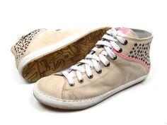 Khrio sneaker191 boots - beige / combi