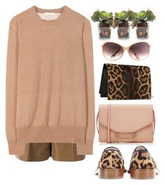 """Casual"" by grinevagh ❤ liked on Polyvore featuring Victoria Beckham, John-Richard and Carven"