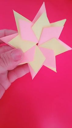 Check out the webpage to read more on Origami Designs Origami Xmas Star, Origami 3d, Christmas Origami, Paper Crafts Origami, Useful Origami, Diy Paper, Christmas Crafts, Diy Flowers, Paper Flowers