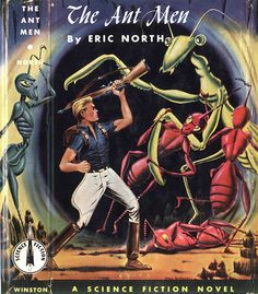 The Ant Men book cover  via great Giant Insect set on Flickr