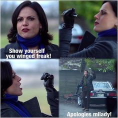 This <3 I love how they meet over flying monkeys in Storybrooke and in fairy-tale land