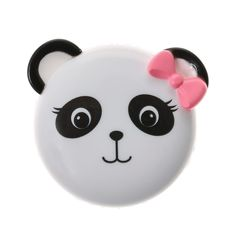 <P>Lips will shimmer and shine with this glittery lip gloss. A panda…