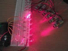 Picture of Quick Arduino MIDI Laser Harp