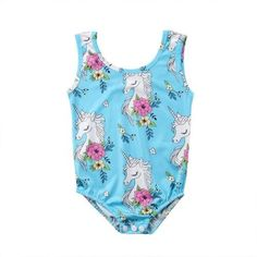 2019 Onepiece Unicorn Bathing - My favorite children's fashion list Baby Clothes Online, Baby & Toddler Clothing, Clothes For Sale, Kids Clothing, Newborn Outfits, Boy Outfits, Unicorn Swimsuit, Girls One Piece Swimsuit, Swimsuit Material