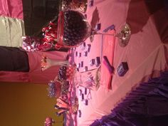 Pink & purple sweet sixteen