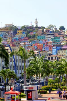 One of my favorites view in El Malecon. P.O. Amazing scenery! Guayaquil, Ecuador