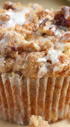 Apple Coffee Cake Muffins