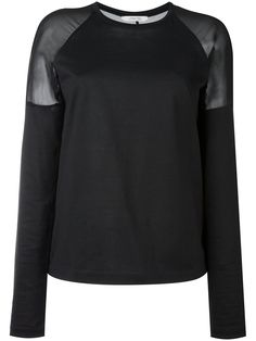 Dorothee Schumacher sheer panel jumper