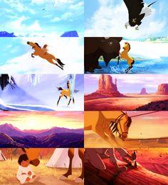 spirit stallion of the cimarron Dreamworks Movies, Dreamworks Animation, Disney And Dreamworks, Animation Film, Disney Animation, Dreamworks Skg, Spirit Horse Movie, Spirit The Horse, Spirit And Rain