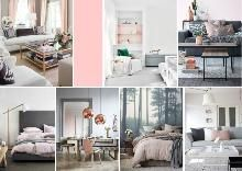 Clean lines and neutral colors like white, gray and silver reign in the pops of pink in these homes. How to decorate with pale pink Pink Gray Bedroom, Global Design, Decorating Blogs, Neutral Colors, Color Trends, Pale Pink, Home Interior Design, Interior Inspiration, Design Projects