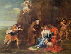 Autore: William Hogart Nome dell'opera: Scena della Tempesta di Shakespeare Data: 1728 Tecnica: olio su tela Collocazione attuale: Collezione St. Oswald, Wakefield