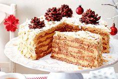 Unser beliebtes Rezept für Agnes-Bernauer-Torte mit Nougat-Schoko-Zäpfli und mehr als 55.000 weitere kostenlose Rezepte auf LECKER.de.