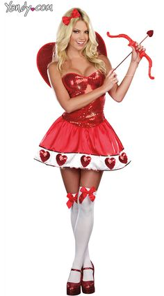 valentine day fancy dress ideas