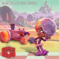 Snowanna Rainbeau Wreck-It Ralph Character Guide