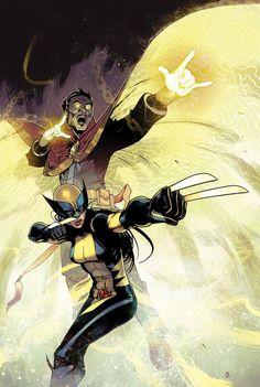 Dr Strange & Wolverine