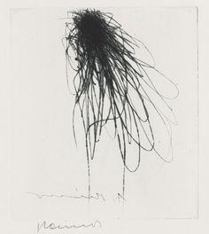 ARNULF RAINER -   Blume 2, 1971.