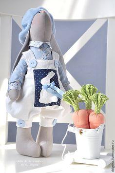 Купить Грэй и Грэтта - зайцы, кролики, зайка, зайки, игрушка заяц, игрушка зайчик