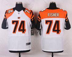 NFL Jersey's Men's Cincinnati Bengals Nike Orange Custom Elite Jersey