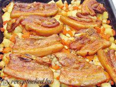 Érdekel a receptje? Kattints a képre! Küldte: Gasztropajti Meat Recipes, Cake Recipes, Green Eggs And Ham, Hungarian Recipes, Potato Dishes, Food 52, Pot Roast, Sausage, Bacon