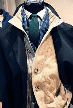Now that the seasons are a-changing, ditch that vest for a Cable Cardigan