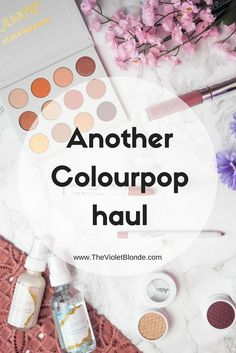 Another Colourpop haul including the Yes, Please palette, Crystal range, and some more Super Shock Shadows. Swatches.