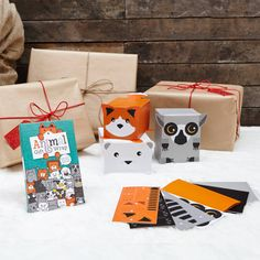 Animal Gift Wrap Boxed Set.