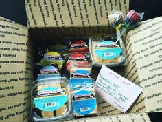 Feeling loved on by @sweetandsara! Awesome packaging... And the treats were delicious! Thank you soooo much for this delightful surprise! #sweetandsara #treats #frontierlabel #weloveourcustomers #labelsonproducts #latergram