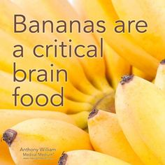 I don't like bananas, so my body probably doesn't need it.