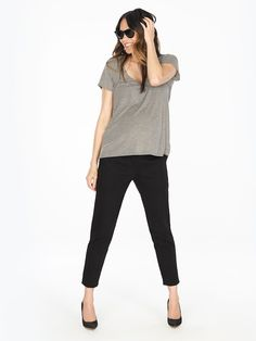 8781bc0a65216 slim pant   maternity all stages Maternity Pants