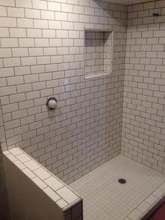 emerald city tile and stone llc shower in 3 x 6 ceramic subway tile - Daltile Subway Tile