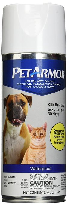 PetArmor Fipronil Flea and Tick Spray for Dogs and Cats, 6.5 oz *** Check out this great product.