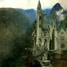 i know they're probably damp and cold, but I want to live and write in a castle