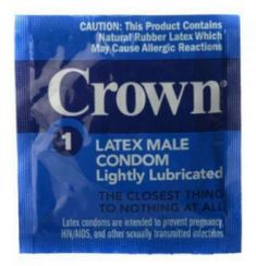 Crown Condoms Natural Rubber Latex, Family Planning, All Or Nothing, World Famous, New Blue, Health And Beauty, Packing, Personal Care, Fun Funny