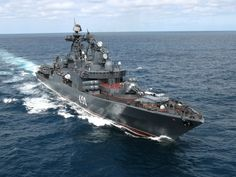Russian Navy Udaloy Class destroyer