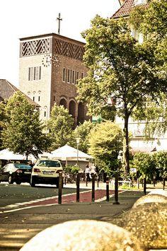 Blick auf den Sallplatz in Hannover Südstadt