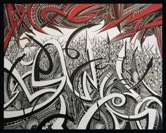 "Large 32""x40"" Sharpie Art piece for sale- Check it out on eBay!"