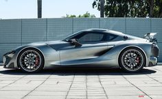 Toyota FT-1 sports concept #toyota #concepts #dandeerytoyota