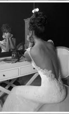 Inbal Dror Stunning Backless Wedding Gown!