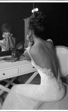 Inbal Dror Stunning Backless Wedding Gown!