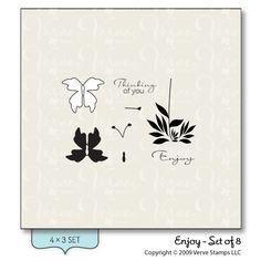 Enjoy - Verve Stamps Inspiration Gallery
