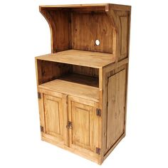 Elegant Our Rustic Microwave Stand Is A Creative Solution To The Problem Of Where  To Put Your Microwave Oven, And It Provides Extra Kitchen Storage.