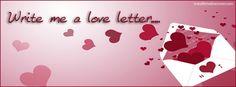 Write Me A Love Letter Facebook Cover InstallTimelineCover.com