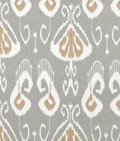 (2 YDS)  ~$67.   2 Euro Shams for the Living Room.    Portfolio Bansuri Slate Fabric