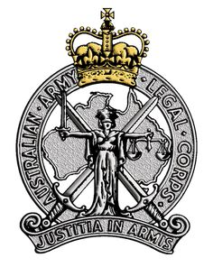 Australian Army Legal Corps. Military Insignia, Military Police, Army, Commonwealth, Armed Forces, Motto, Badges, Photo Art, Australia