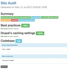 Site Audit is a Drupal static site analysis platform that generates reports with actionable best practice recommendations. Site Analysis, Drupal, Report Template, Sample Resume, Templates, Stencils, Vorlage, Models