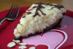Almond Joy Pie,,,Sounds so yummy! I prefer Mounds Bars though so I would use dark chocolate chips and omit the almonds.