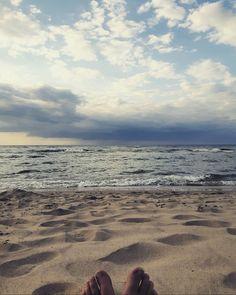 #sea #baltic #beach #clouds