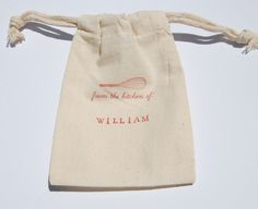 Cooking Party Muslin Bag / Set of 10 / Birthday by littlechicklets, $15.00