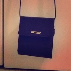 """Liz Claiborne purse/wallet.  Dark navy blue color. Used once.  Strap is 24.5"""" long.  No stains, pet-free, smoke-free home. Liz Claiborne Bags Wallets"""