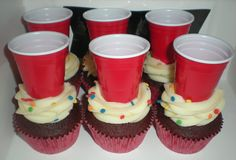 Red Cup Red Velvet Cupcakes